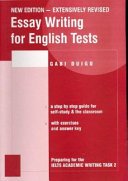 Essay Writing for English Tests