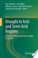 Drought In Arid And Semi Arid Regions