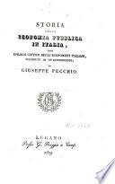 Storia della economia pubblica in Italia, ossia epilogo critico degli economisti italiani