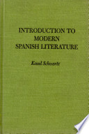 Introduction to Modern Spanish Literature