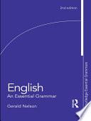 English  An Essential Grammar
