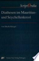 Diathesen im Mauritius- und Seychellenkreol