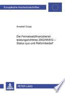 Die Fernabsatzfinanzdienstleistungsrichtlinie 2002/65/EG