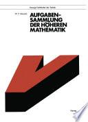 Aufgabensammlung der h  heren Mathematik