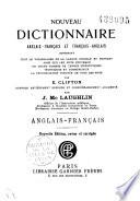 Nouveau Dictionnaire Anglais fran  ais Et Fran  ais anglais