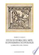 Studi di storia dell arte  iconografia e iconologia