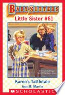 Karen S Tattletale Baby Sitters Little Sister 61