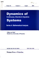 Dynamics of Continuous, Discrete & Impulsive Systems