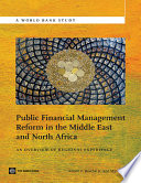 Public Financial Management Reform in the Middle East and North Africa