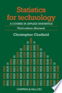 Statistics for Technology