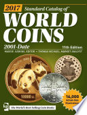 2017 Standard Catalog of World Coins  2001 Date