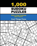 1 000 Sudoku Puzzles  Easy to Super Challenge Brain Teasers