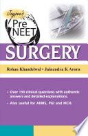 Pre NEET Surgery