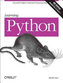 Learning Python Book Cover