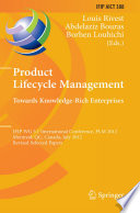 Product Lifecycle Management: Towards Knowledge-Rich Enterprises