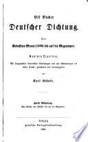 Elf Bücher deutscher Dichtung