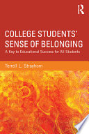 College Students  Sense of Belonging
