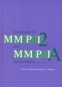 Essentials of MMPI 2 and MMPI A Interpretation