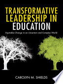 Transformative Leadership in Education