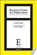 Ragioni e limiti del formalismo  Saggi di filosofia della logica e della matematica