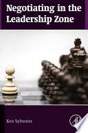 Book Negotiating in the Leadership Zone