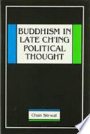 Buddhism in Late Ch'ing Political Thought