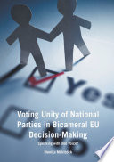 Voting Unity Of National Parties In Bicameral Eu Decision Making
