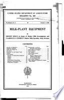 Milk Plant Equipment