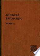 Builder s Estimating Book i