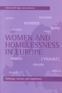Women and homelessness in Europe