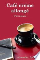 Café crème allongé
