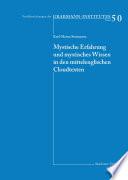 Mystische Erfahrung und mystisches Wissen in den mittelenglischen Cloud-Texten