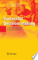 Successful Decision-making : manager and it is often a very...