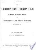 The Gardeners' Chronicle