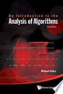 Introduction To The Analysis Of Algorithms  An  3rd Edition