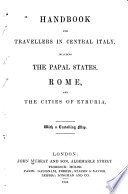 Handbook for Travellers in Central Italy