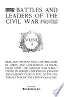 Battles and Leaders of the Civil War     Book PDF