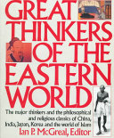 Great Thinkers Of The Eastern World