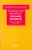 Techniques and resources in teaching grammar