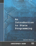 An Introduction to Stata Programming  Second Edition
