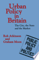 Urban Policy in Britain