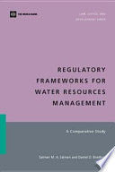 Regulatory Frameworks for Water Resources Management
