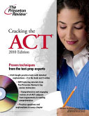 Cracking the ACT with DVD  2010 Edition
