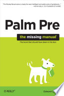 Palm Pre  The Missing Manual