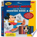 Learn to Draw Disney s Mickey Mouse and His Friends Drawing Book   Kit