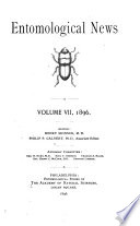 Entomological News and Proceedings of the Entomological Section of the Academy of Natural Sciences of Philadelphia Book PDF