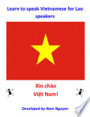 Learn to Speak Vietnamese for Lao Speakers
