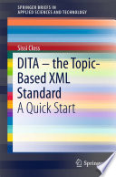 Dita The Topic Based Xml Standard