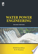 Water Power Engineering 2nd Edition