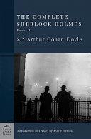 The Complete Sherlock Holmes  Return of Sherlock Holmes